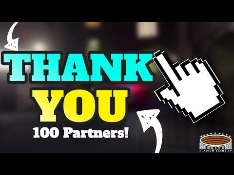 StadiumScene.TV - 100 Partners Thank You!