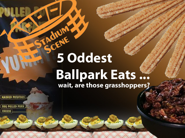 5 Oddest Stadium Snacks