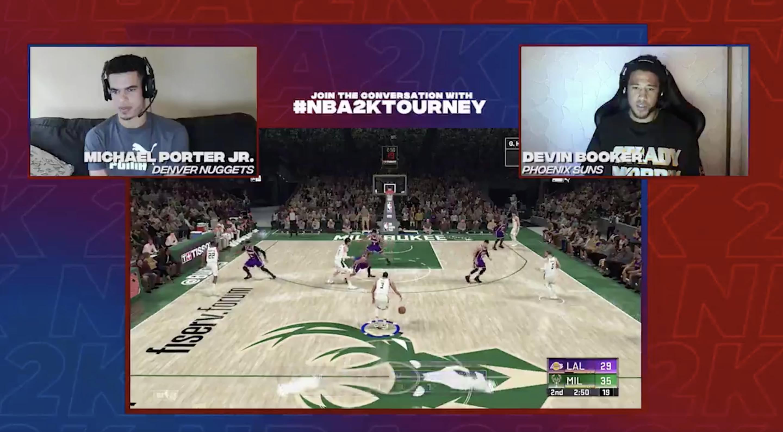 NBA players showcase digital handles during COVID-19 postponements