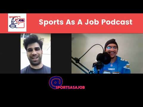 Sports As a Job Podcast: The Intersection of Law and Sports, Dan Lust