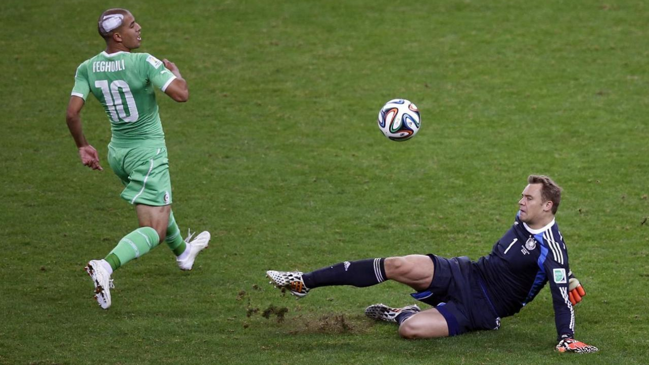Classic GK Analysis: Manuel Neuer's performance vs. Algeria was nothing short of iconic.