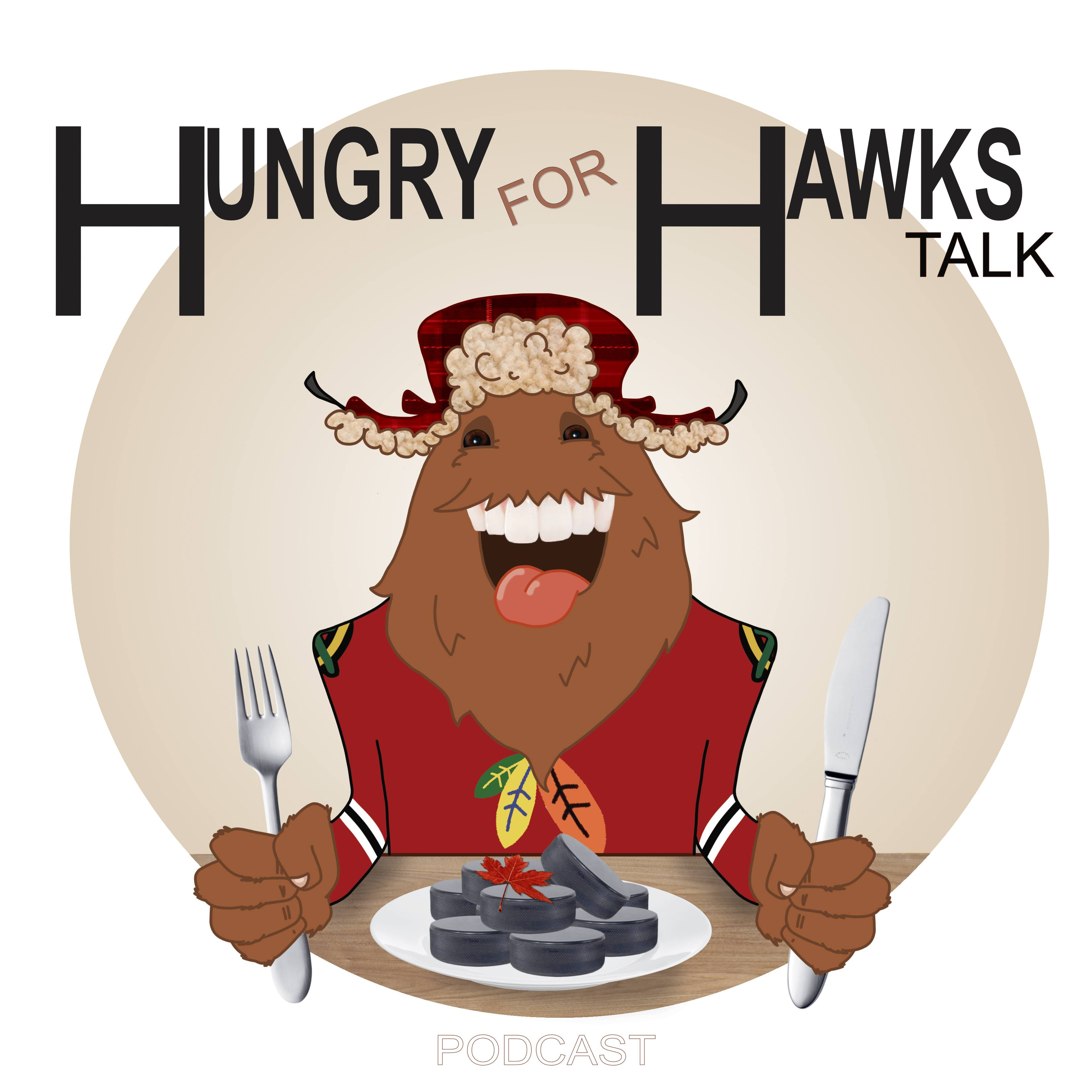 Chicago Blackhawks - Hungry For Hawks Talk - EP60 - S1 Featuring Jonny B