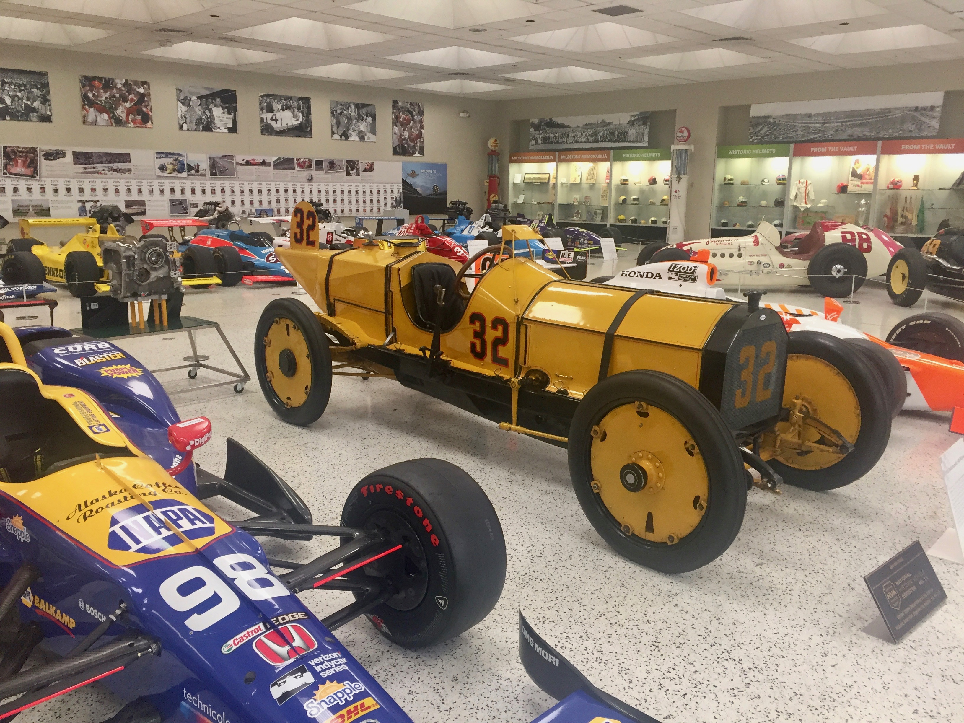 1911 Indianapolis 500 Winner - The Marmon Wasp