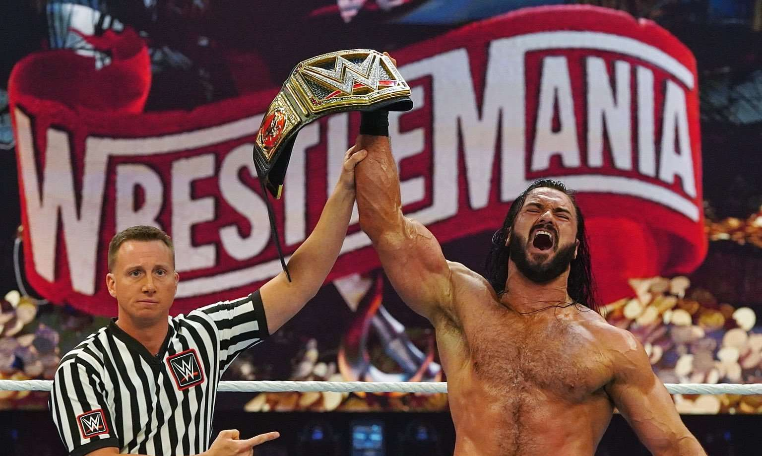 WrestleMania 36 review: Against all odds in front of no fans, WWE puts on two near-perfect shows