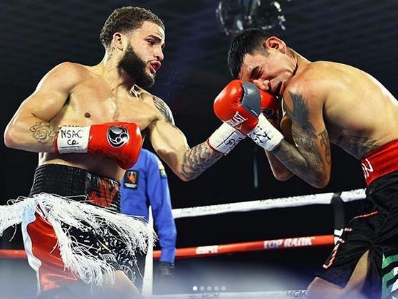 Vargas dominates Briceno in Las Vegas