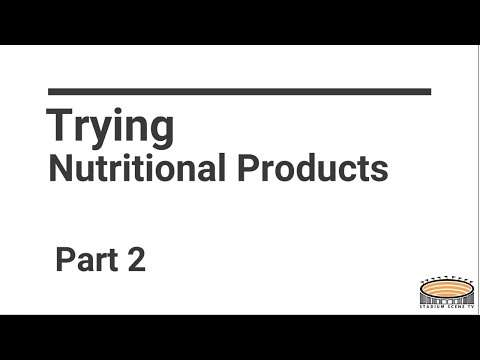 StadiumScene.TV's Main Event - Trying Nutritional Products Part 2