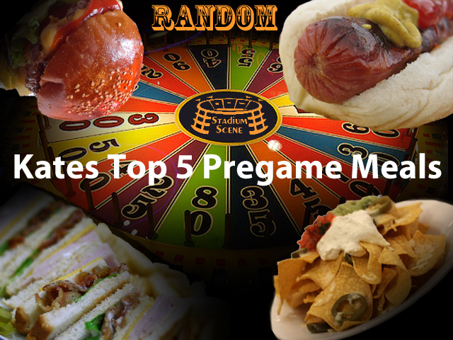 Kate's Top 5 Pregame Meals