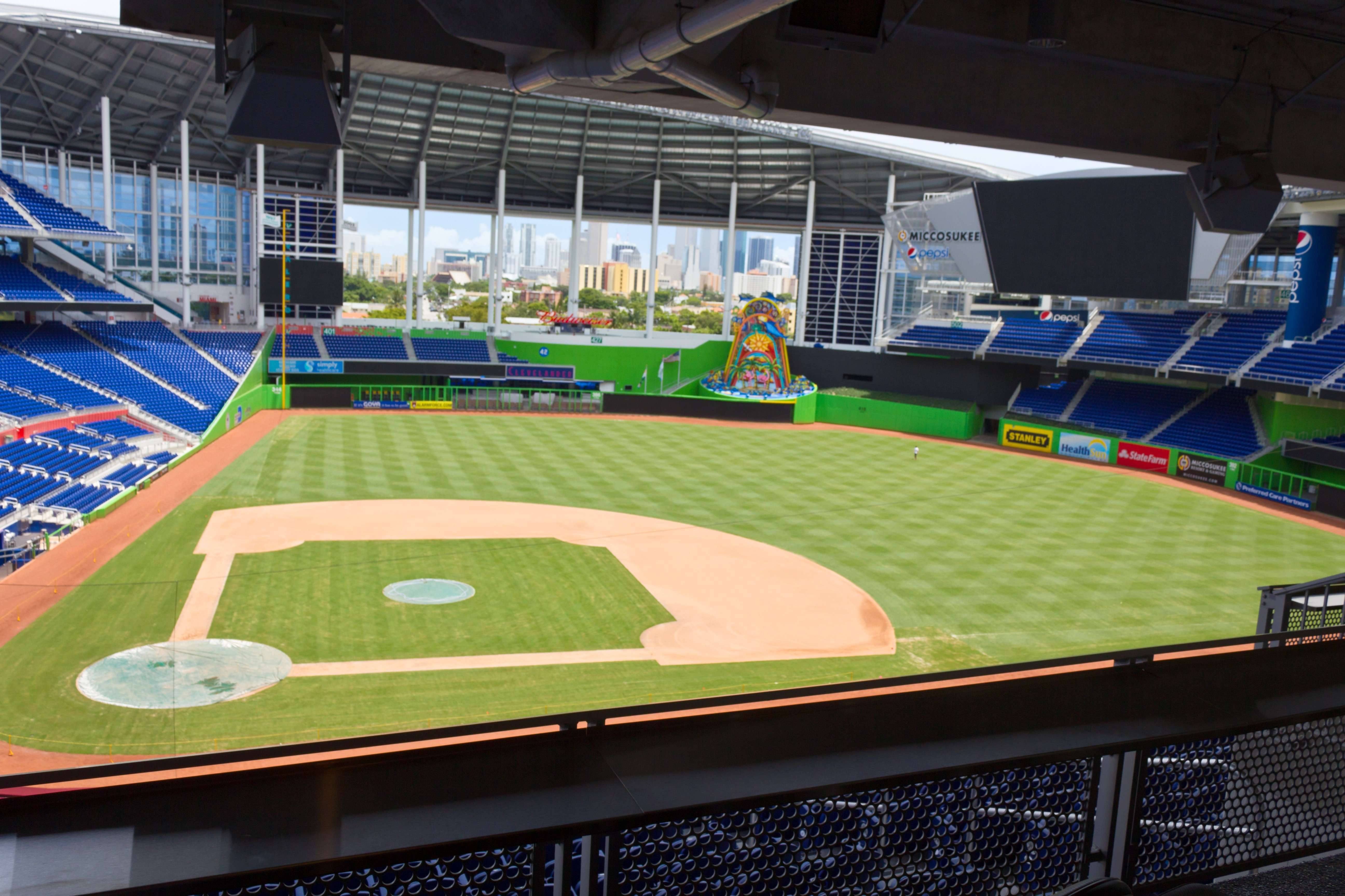 Marlins Park Stadiumscene Tv